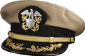 Movie/TV Memorabilia:Costumes, Glenn Ford's U.S. Naval Reserve Uniform Cap....