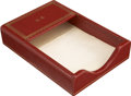 Movie/TV Memorabilia:Memorabilia, Glenn Ford's Monogrammed Note Box....