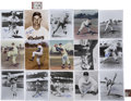 Autographs:Photos, Brooklyn Dodgers Signed Photographs Lot of 29.... (Total: 29 items)