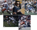 Football Collectibles:Photos, NFL Star Signed Photographs Lot of 5.... (Total: 5 items)