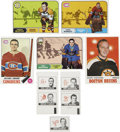 Hockey Cards:Lots, 1968-69 to 1970-71 Topps/OPC Hockey Collection (63).... (Total: 63 cards)