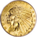 Indian Half Eagles, 1915 $5 MS64 PCGS....