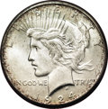 Additional Certified Coins, 1924-S $1 Peace Dollar MS65 Paramount (MS63)....
