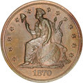 Patterns, 1870 $1 One Dollar, Judd-1016, Pollock-1150, R.7, PR66 Red and Brown NGC....