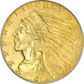 Indian Quarter Eagles, 1914 $2 1/2 MS64 PCGS. CAC....