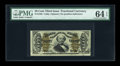 Fractional Currency:Third Issue, Fr. 1335 50c Third Issue Spinner PMG Choice Uncirculated 64 EPQ....