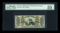 Fractional Currency:Third Issue, Fr. 1362 50c Third Issue Justice PMG About Uncirculated 55....