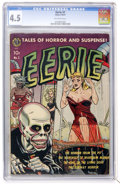Golden Age (1938-1955):Horror, Eerie #1 (1951) (Avon, 1951) CGC VG+ 4.5 Off-white pages....