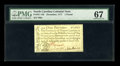 Colonial Notes:North Carolina, North Carolina December, 1771 L1 PMG Superb Gem Unc 67....