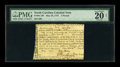 Colonial Notes:North Carolina, North Carolina May 28, 1757 L5 PMG Very Fine 20 Net....