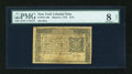 Colonial Notes:New York, New York March 5, 1776 $1/6 PMG Very Good 8 Net....