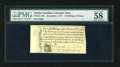 Colonial Notes:North Carolina, North Carolina December, 1771 2s6d PMG Choice About Unc 58....