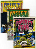 Bronze Age (1970-1979):Alternative/Underground, Insect Fear #1-3 Group (Print Mint, 1970-73).... (Total: 3 Comic Books)