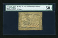 Colonial Notes:Continental Congress Issues, Continental Currency May 10, 1775 $6 PMG About Uncirculated 50EPQ....