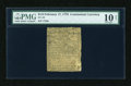 Colonial Notes:Continental Congress Issues, Continental Currency February 17, 1776 $1/6 PMG Net Very Good10....