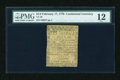 Colonial Notes:Continental Congress Issues, Continental Currency February 17, 1776 $1/3 PMG Fine 12....
