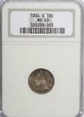 Seated Dimes: , 1884-S 10C MS63 NGC. NGC Census: (15/16). PCGS Population (7/13).Mintage: 564,969. Numismedia Wsl. Price for NGC/PCGS coin...
