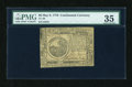 Colonial Notes:Continental Congress Issues, Continental Currency May 9, 1776 $6 PMG Choice Very Fine 35....