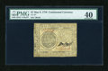 Colonial Notes:Continental Congress Issues, Continental Currency May 9, 1776 $7 PMG Extremely Fine 40....