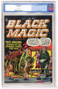Golden Age (1938-1955):Horror, Black Magic #8 (Prize, 1951) CGC VF 8.0 Off-white pages....