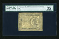 Colonial Notes:Continental Congress Issues, Continental Currency February 26, 1777 $3 PMG Choice Very Fine 35....