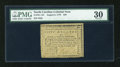 Colonial Notes:North Carolina, North Carolina August 8, 1778 $50 PMG Very Fine 30....