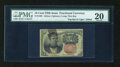 Fractional Currency:Fifth Issue, Satire Note. Fr. 1265 PMG Very Fine 20....