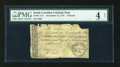 Colonial Notes:South Carolina, South Carolina November 15, 1775 £3 PMG Good 4 Net....