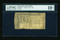 Colonial Notes:Maryland, Maryland January 1, 1767 $8 PMG Net Very Good 10....