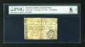 Colonial Notes:South Carolina, South Carolina November 15, 1775 15s PMG Very Good 8 Net....