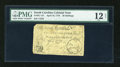 Colonial Notes:South Carolina, South Carolina April 10, 1778 20s PMG Fine 12 Net....
