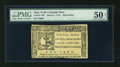 Colonial Notes:New York, New York March 5, 1776 $1/2 PMG About Uncirculated 50 Net....