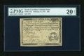 Colonial Notes:South Carolina, South Carolina February 14, 1777 $30 PMG Net Very Fine 20....