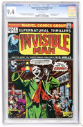Bronze Age (1970-1979):Horror, Supernatural Thrillers #2 The Invisible Man (Marvel, 1973) CGC NM9.4 White pages....