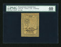 Colonial Notes:Pennsylvania, Pennsylvania October 1, 1773 10s PMG Extremely Fine 40....