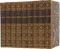 Books:First Editions, [Walter Scott] John Gibson Lockhart. Memoirs of the Life of SirWalter Scott. Boston: Ticknor and Fields, 1861. ... (Total: 9Items)