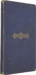 Books:First Editions, Sarah E. Carmichael. Poems. San Francisco: Towne and Bacon,1866....