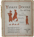 Books:Children's Books, Howard Pyle [illustrator]. Yankee Doodle, An Old Friend in a NewDress. New York: Dodd, Mead and Company, 1881....