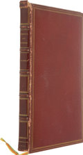 Books:First Editions, [William Makepeace Thackeray] Mr. M. A. Titmarsh [pseudonym].Rebecca and Rowena, A Romance Upon Romance. London: Ch...