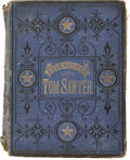 Books:First Editions, Mark Twain. The Adventures of Tom Sawyer. Hartford: TheAmerican Publishing Company, 1876. First American edition, t...