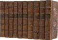 Books:Non-fiction, James Boswell. The Life of Samuel Johnson, LL.D., Including AJournal of His Tour to the Hebrides by James Boswell, Esq...(Total: 10 Items)