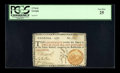 Colonial Notes:Georgia, Georgia 1776 $2 Orange Seal PCGS Very Fine 25....