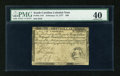 Colonial Notes:South Carolina, South Carolina February 14, 1777 $30 PMG Extremely Fine 40....