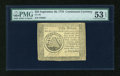 Colonial Notes:Continental Congress Issues, Continental Currency September 26, 1778 $50 PMG About Uncirculated53 EPQ....
