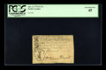 Colonial Notes:North Carolina, North Carolina April 2, 1776 $2 1/2 Hand Clasping Arrows PCGSExtremely Fine 45....