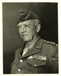 Autographs:Military Figures, George S. Patton Signature ... (Total: 2 Items)