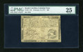 Colonial Notes:South Carolina, South Carolina February 14, 1777 $20 PMG Very Fine 25....