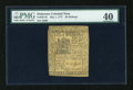 Colonial Notes:Delaware, Delaware May 1, 1777 20s PMG Extremely Fine 40....