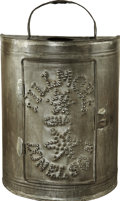 Political:3D & Other Display (pre-1896), Fillmore & Donelson: Exceedingly Rare and Important Punched Tin Lantern....