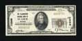 National Bank Notes:Missouri, Saint Louis, MO - $20 1929 Ty. 1 The Telegraphers NB Ch. # 12389.This is a lovely mid-grade small size note from this p...